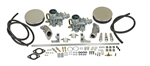 EMPI 47-7301 - EMPI DUAL 34 EPC CARBURETOR KIT - T3 SINGLE PORT WITH AIR CLEANERS