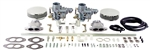 EMPI 47-7311 - EMPI DUAL 34 EPC CARBURETOR KIT - T3 - DUAL PORT WITH AIR CLEANERS