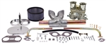 EMPI 47-7316 - EMPI SINGLE 44 HPMX CARBURETOR KIT WITH CHROME AIR CLEANER