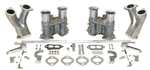 EMPI 47-7330 - EMPI DUAL EPC 48 CARBURETOR KIT T1 WITH STANDARD MANIFOLDS WITH HEX BAR LINKAGE - IDA STYLE