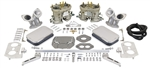EMPI 47-7341 - EMPI DUAL 40 HPMX DUAL CARBURETOR KIT FOR T3 WITH AIR CLEANERS
