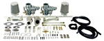 EMPI 47-7401 - SINGLE PORT DUAL 34 EPC CARBURETOR KIT