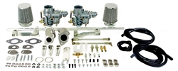 EMPI 47-7401 - SINGLE PORT DUAL 34 EPC CARB KIT