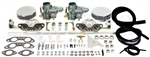 EMPI 47-7412 - EMPI DUAL 34 EPC CARBURETOR KIT - 1700CC-2000CC T2 T4 & 914 ENGINES WITH AIR CLEANERS