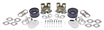 EMPI 48-1291 - PORCHE 356 / 912 ENGINES - EMPI DUAL HPMX CARBURETOR KIT WITH CHROME AIR CLEANERS