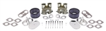 EMPI 48-1292 - PORCHE 356 / 912 ENGINES - EMPI DUAL 44 HPMX CARBURETOR KIT WITH CHROME AIR CLEANERS