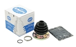 EMPI 86-1086-D - IRS BOOT W/ FLANGE INSTALLATION KIT - T2/4 - BLACK - EACH - 211-501-149