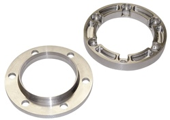 930 CV BILLET ALUMINUM BOOT RETAINER & CV FLANG SET