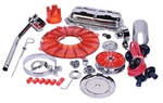 EMPI 8655 - Super Chrome & Color Deluxe Engine Kit