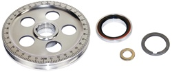 EMPI 8688 - Sand Seal Stock Sized Pulley Kit - Bolt-In Installation