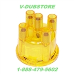 EMPI 8793 - DISTRIBUTOR CAP - 009 STYLE - GOLD / YELLOW
