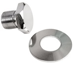 EMPI 9117 - Chrome Bolt & Washer