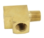 "EMPI 9205 - BRASS T FITTING/ADAPTER (1/8""), FOR GAUGES, EACH"