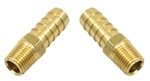 "EMPI 9215 - 1/4"" MALE NPT W/ 1/2"" HOSE BARB, PACK OF 2"