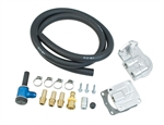 EMPI 9252 - FULL FLOW REMOTE FILTER KIT - BOLT ON