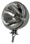 "EMPI 9305 - 7"" CHROME HEADLIGHT W/12-VOLT H4 55-60W BULB (BOXED)"