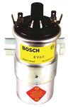 BOSCH 00 016 - BOSCH BLUE COIL WITHOUT RESISTOR - WITH BRACKET - 6 VOLT - SILVER IN COLOR - EMPI 9408-B