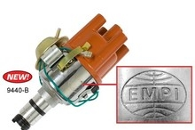 EMPI 9440-B - EMPI CHROME VACUUM ADVANCE DISTRIBUTOR, 1600CC, SVDA - 023 117 0034