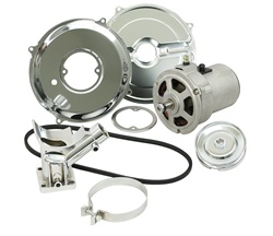 EMPI 9450 ALTERNATOR KIT WITH CHROME COMPONENETS