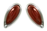 RED TEARDROP TAIL LIGHTS - PAIR