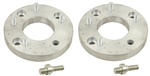 EMPI 9504 - CHEVY WHEEL TO 4 LUG VW - ALUMINUM - PAIR