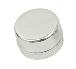 EMPI 9622 - CHROME CENTER CAP FOR EMPI CAST AND POLISHED ALUMINUM SPINDLE MOUNT WHEELS W/O LOGO - PAIR