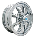 "EMPI 9683 - GT-8 - All Chrome - ET 30 - BS 4 3/8"" - 60* SEAT - 4X130 - 15X5.5"""