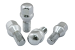 EMPI 9712 - CHROME LUG BOLTS - 14MM - 60* - SET OF 4 - FOR EMPI 4X130 WHEELS