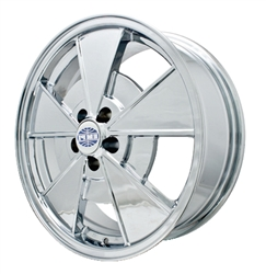 "EMPI 9737 - *NEW BEETLE* ALL CHROME - 17""X7"" - 5X100"