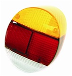 TAIL LIGHT LENS - 73-79 - EURO STYLE - AMBER/RED/WHITE - EACH