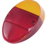 TAIL LIGHT LENS - LEFT OR RIGHT 62-67 - RED - EACH