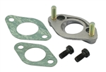 EMPI 98-1293-B ADAPTER KIT TO USE A 30 OR 30/31 CARBURETOR ON A DUAL PORT (34PICT) INTAKE MANIFOLD - 113 129 034KIT