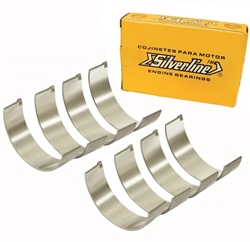 "EMPI 98-1585-S - SILVERLINE ROD BEARING SET, .020"" / .50MM, TYPE 4, 2000CC - 039 105 713MX"