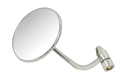 EMPI 98-2013 - SIDE VIEW MIRROR - LEFT - ROUND - 113-857-513A