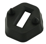 DOOR CHECK ROD SEALS, BLACK, PAIR