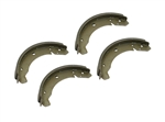 131-609-537C - REAR BRAKE SHOES 1965-1967 - SET OF 4 - EMPI 98-6097-B