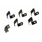 111-698-131 - Hubcap Repair Kit, Spring w/Rivet, Type 1 50-65, Ghia 56-65, Type 2 50-67 (5pc. Kit) - EMPI 98-6982-B