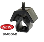 EMPI 98-8636-B - ENGINE MOUNT, REAR SUPPORT, TYPE 2, 68-71, EACH - 211 199 231A