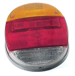 TAIL LIGHT ASSEMBLY - LEFT OR RIGHT - 73-79 - EACH - UNIVERSAL - GREY PLASTIC