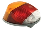 TAIL LIGHT ASSEMBLY - RIGHT - T1 73-79 - GREY PLASTIC