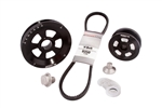 MST - BLACK - RENEGADE - STOCK V-BELT DESIGNED PULLEY KIT - COMPLETE WITH BELT & HARDWARE