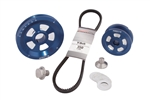 MST - BLUE - RENEGADE - STOCK V-BELT DESIGNED PULLEY KIT - COMPLETE WITH BELT & HARDWARE