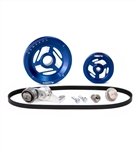 MST - BLUE - EXCALIBUR - COMPLETE SERPENTINE PULLEY SYSTEM