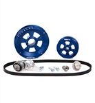 MST - BLUE - RENEGADE - COMPLETE SERPENTINE PULLEY SYSTEM