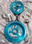 MST - OCEAN BLUE - EXCALIBUR - COMPLETE SERPENTINE PULLEY SYSTEM