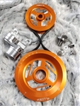MST - ORANGE - EXCALIBUR - COMPLETE SERPENTINE PULLEY SYSTEM