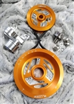 MST - ORANGE - RAPTOR - COMPLETE SERPENTINE PULLEY SYSTEM