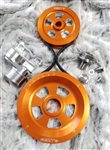 MST - ORANGE - RENEGADE - COMPLETE SERPENTINE PULLEY SYSTEM