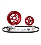 MST - RED - EXCALIBUR - COMPLETE SERPENTINE PULLEY SYSTEM