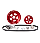 MST - RED - RENEGADE - COMPLETE SERPENTINE PULLEY SYSTEM